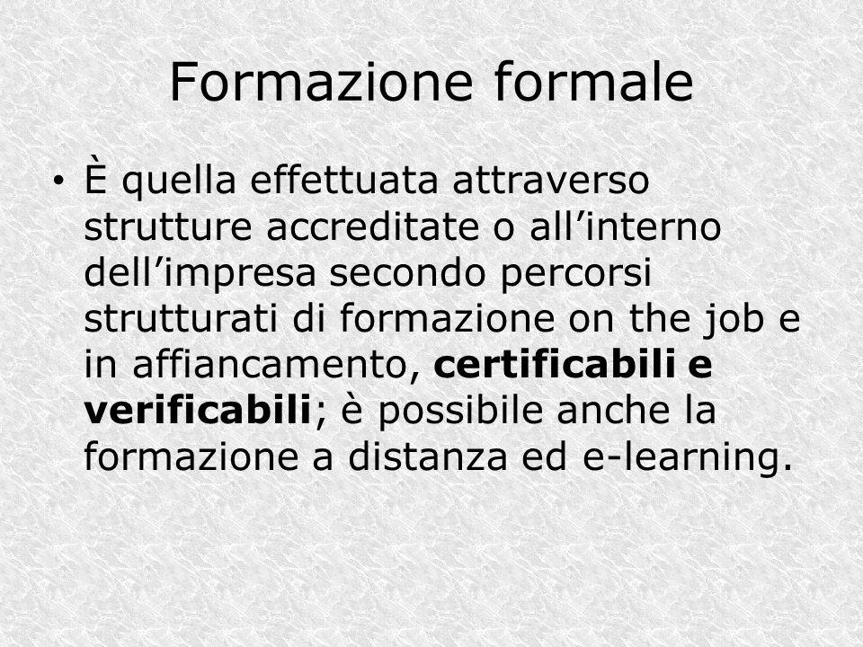Formazione formale