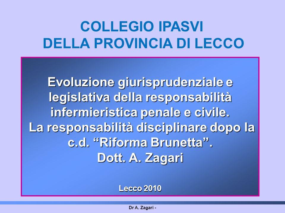 COLLEGIO IPASVI DELLA PROVINCIA DI LECCO