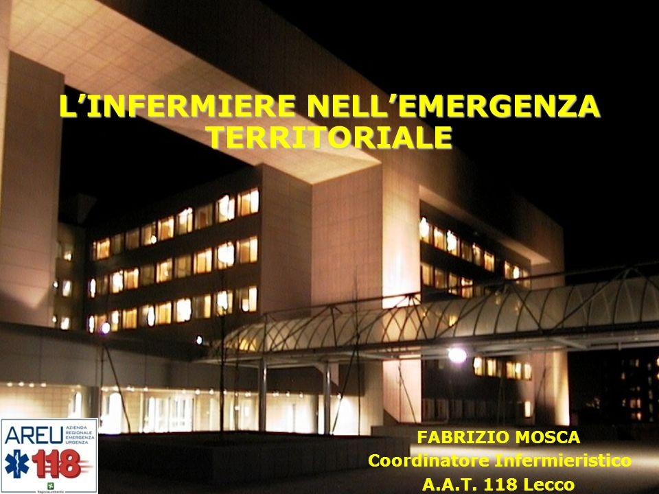 L'INFERMIERE NELL'EMERGENZA TERRITORIALE