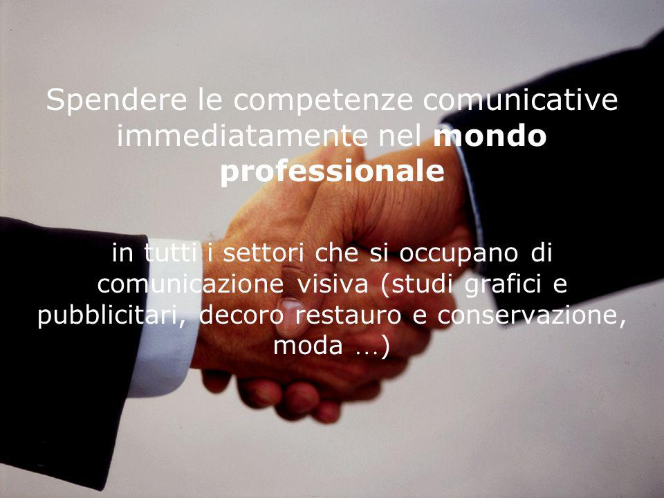 Spendere le competenze comunicative immediatamente nel mondo professionale