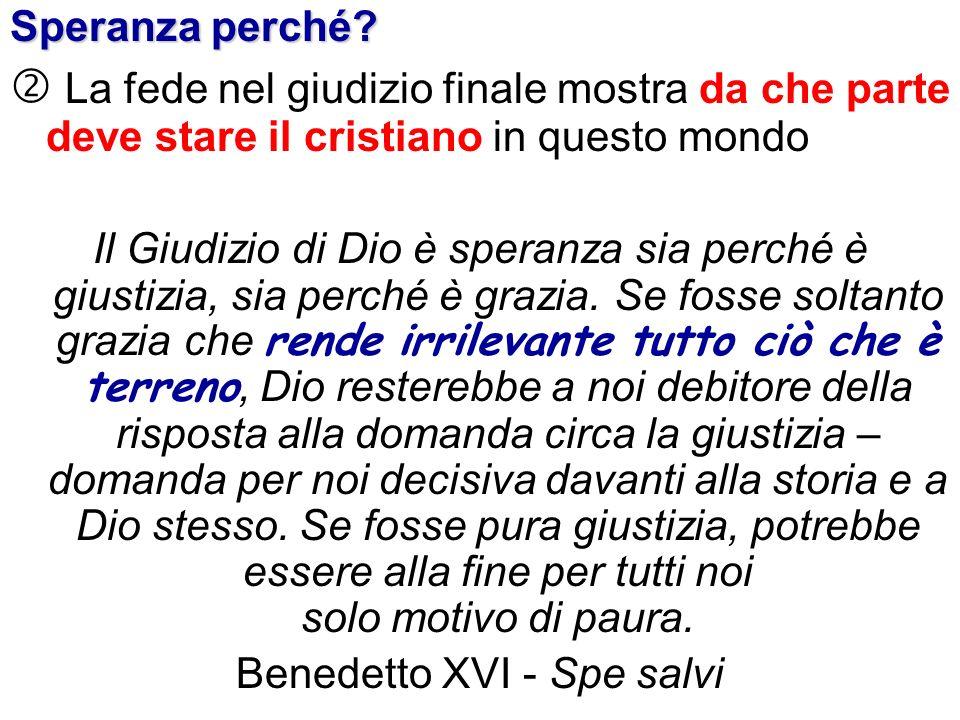 Benedetto XVI - Spe salvi