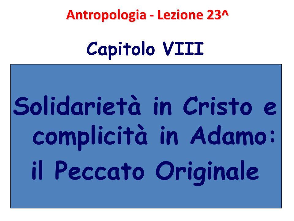 Antropologia - Lezione 23^