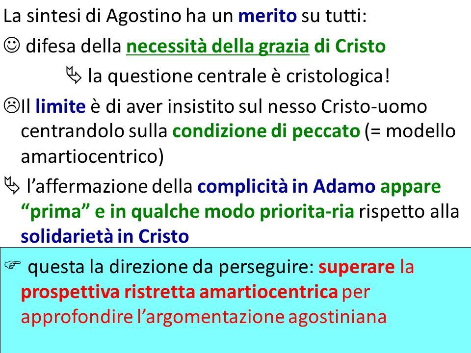 La sintesi di Agostino ha un merito su tutti: