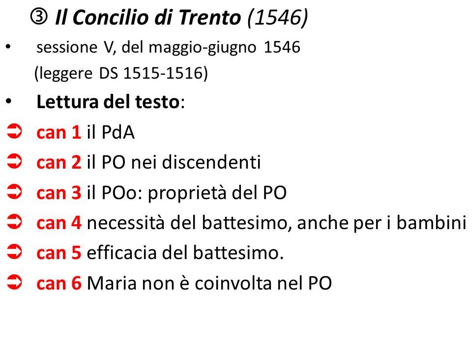  Il Concilio di Trento (1546)