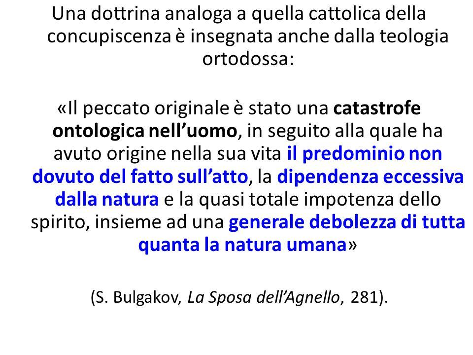 (S. Bulgakov, La Sposa dell'Agnello, 281).