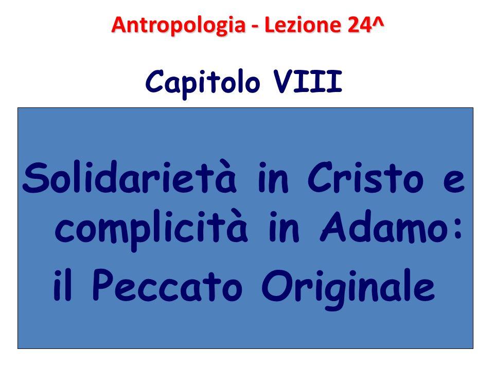 Antropologia - Lezione 24^