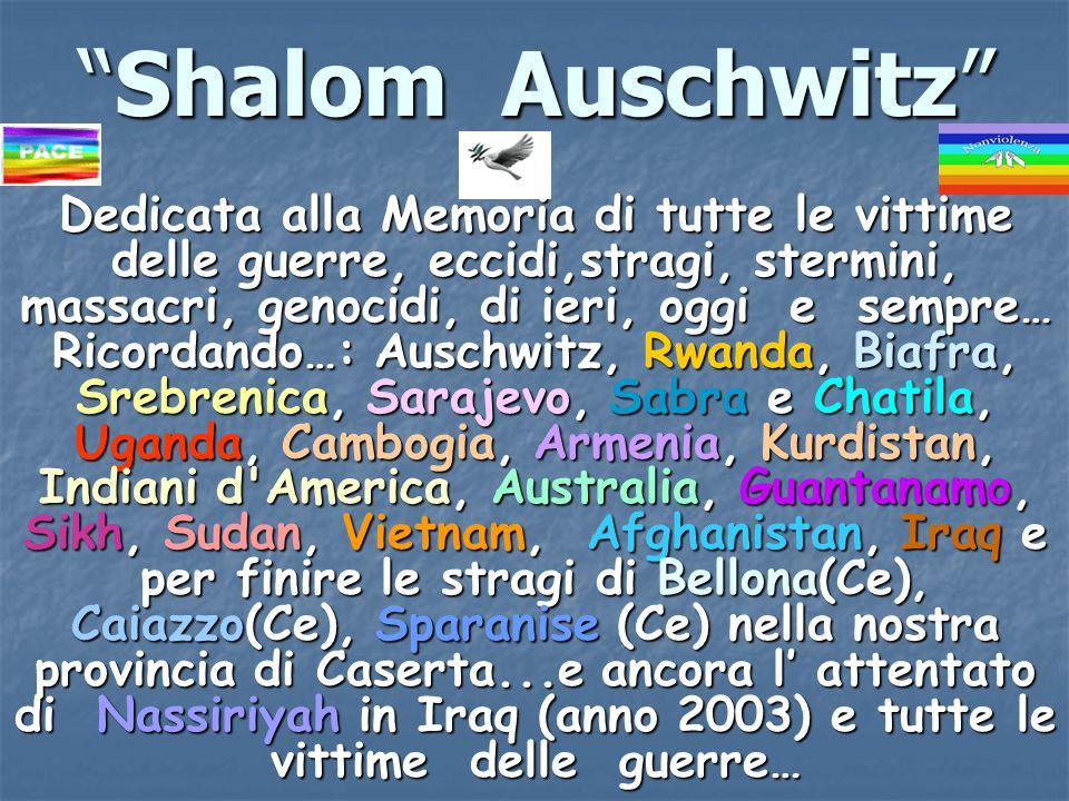 Shalom Auschwitz