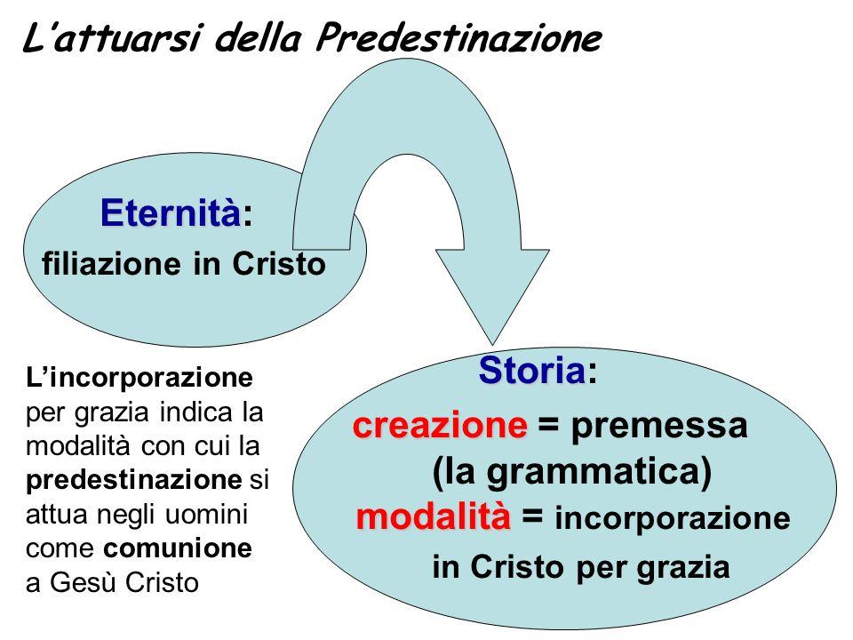 L'attuarsi della Predestinazione