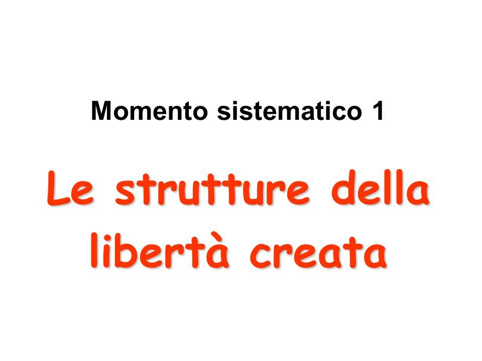 Le strutture della libertà creata