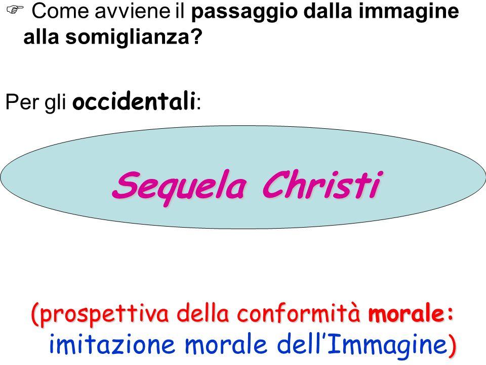 (prospettiva della conformità morale: imitazione morale dell'Immagine)