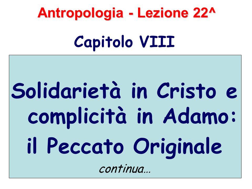 Antropologia - Lezione 22^
