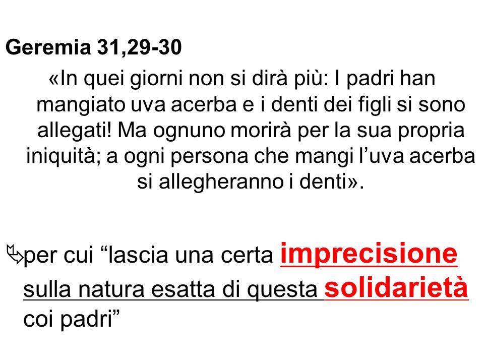 Geremia 31,29-30