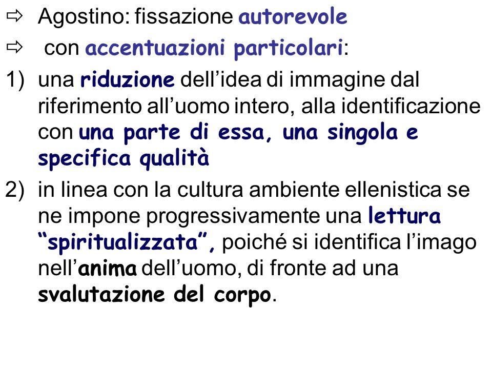 Agostino: fissazione autorevole