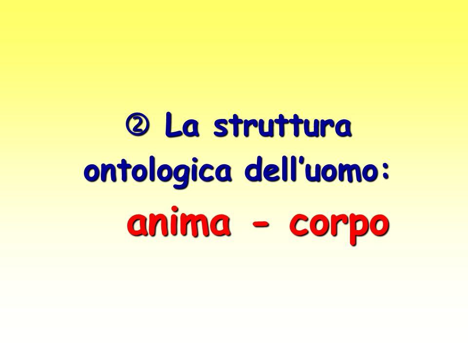 ontologica dell'uomo: