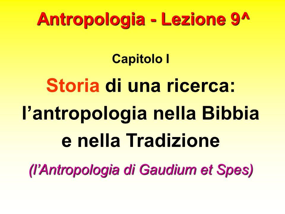 Antropologia - Lezione 9^
