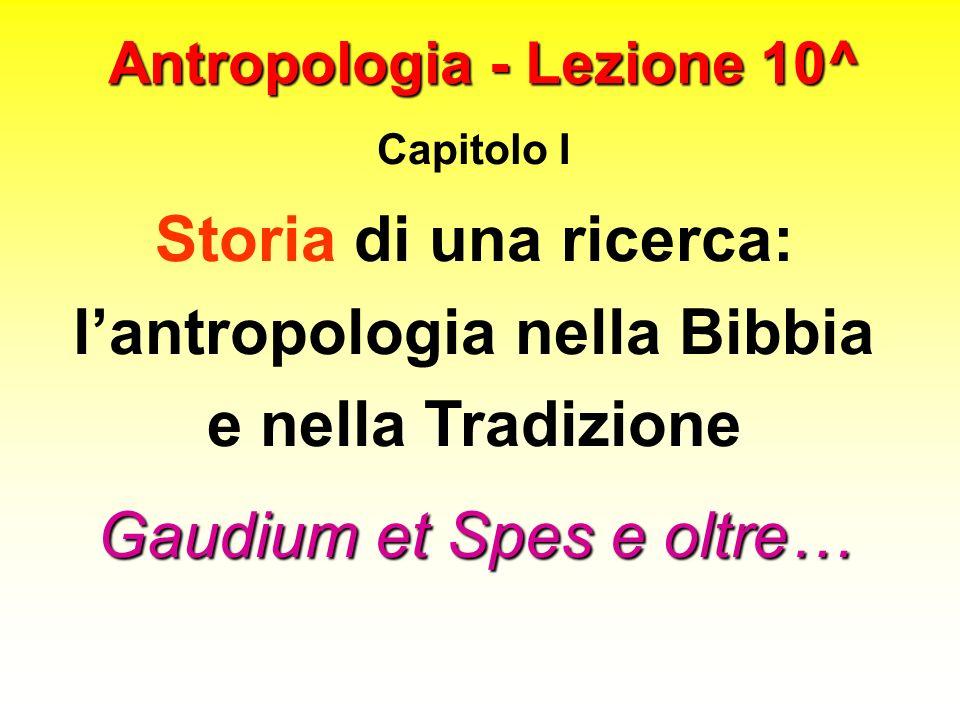 Antropologia - Lezione 10^