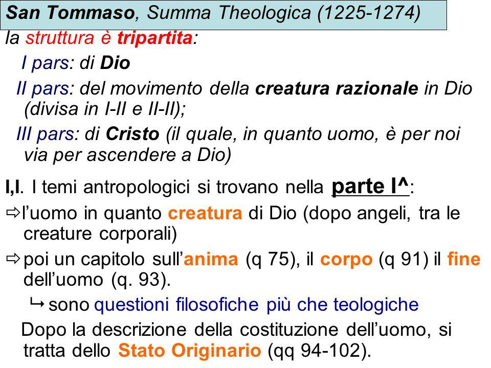 San Tommaso, Summa Theologica (1225-1274)