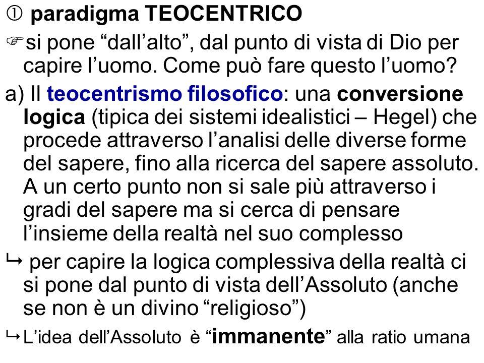  paradigma TEOCENTRICO