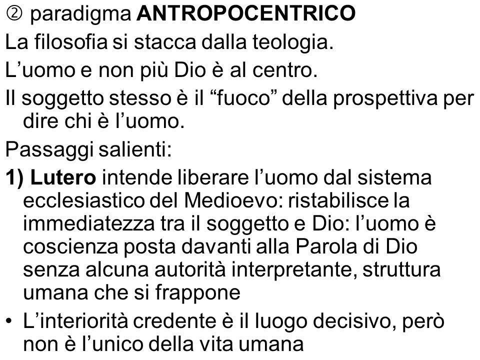  paradigma ANTROPOCENTRICO