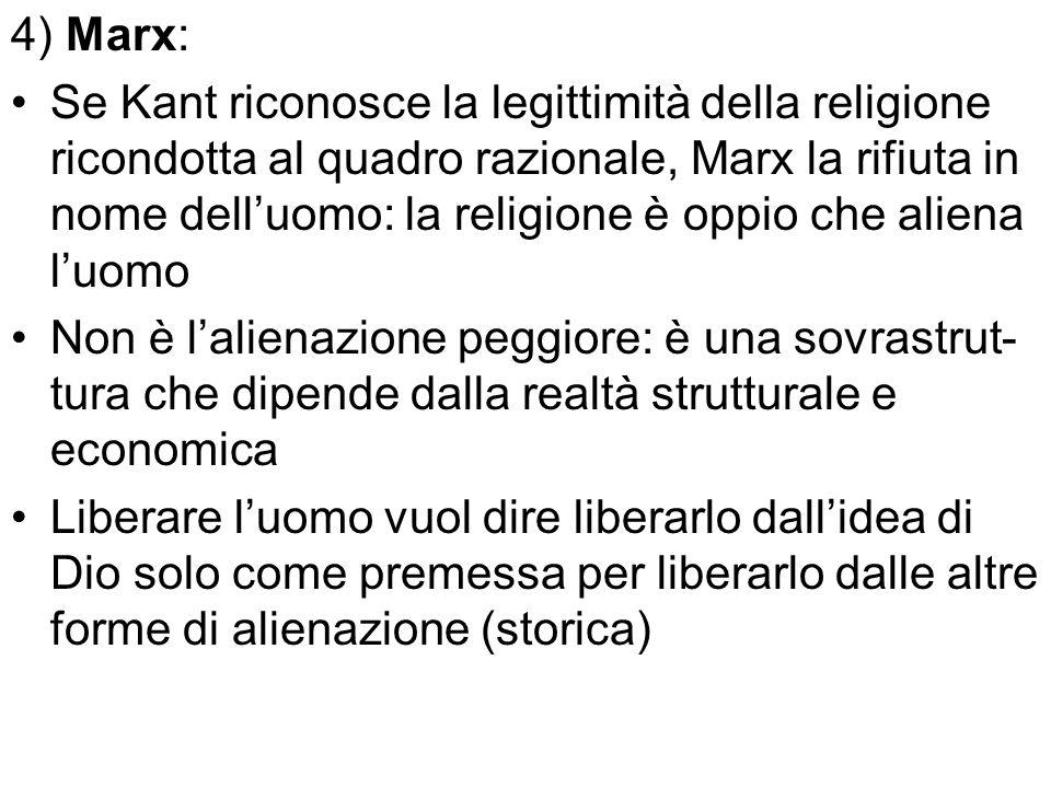 4) Marx: