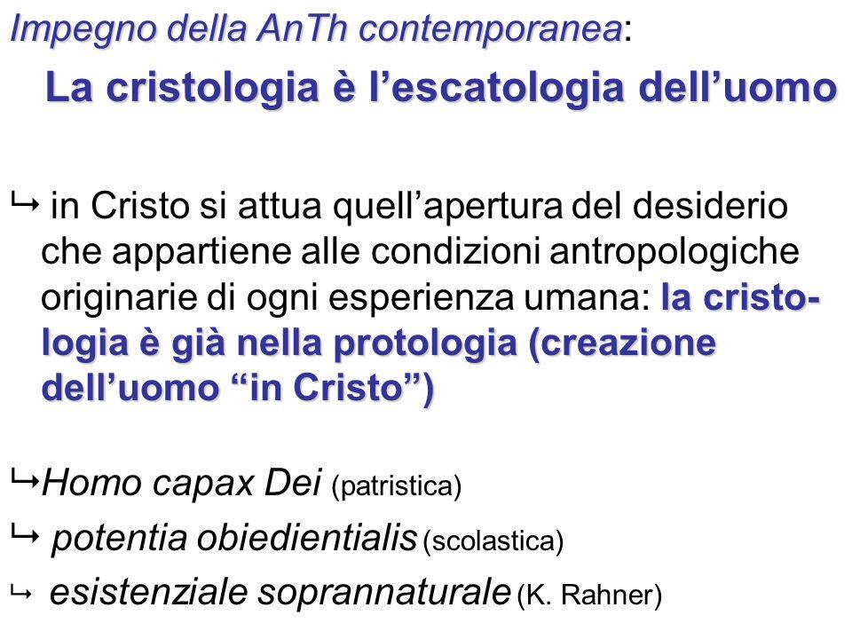 La cristologia è l'escatologia dell'uomo