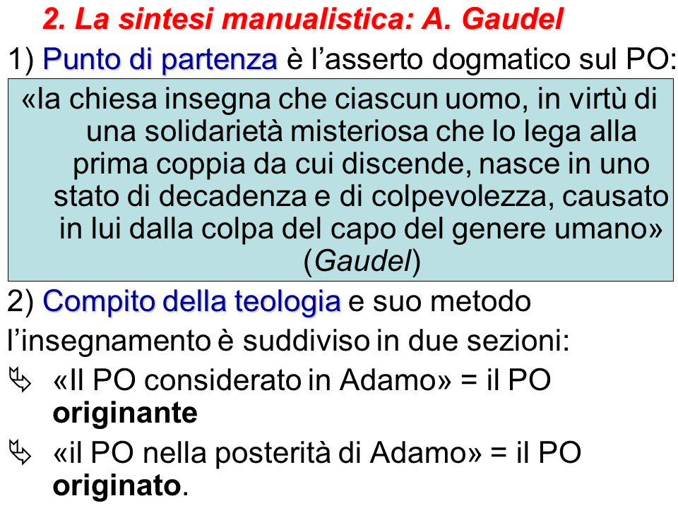 2. La sintesi manualistica: A. Gaudel