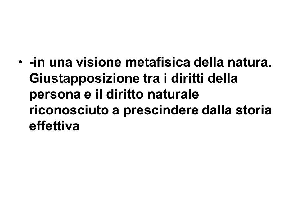 -in una visione metafisica della natura