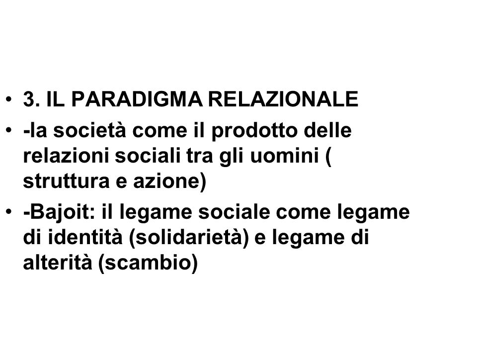3. IL PARADIGMA RELAZIONALE