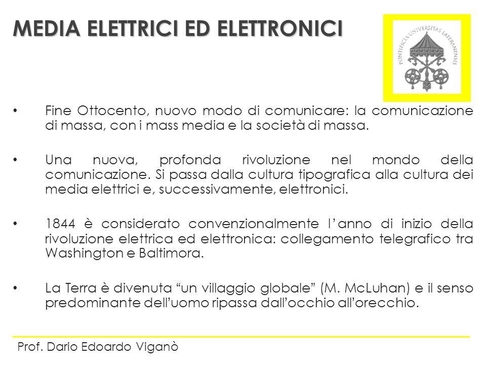 MEDIA ELETTRICI ED ELETTRONICI