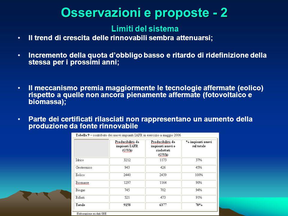 Osservazioni e proposte - 2