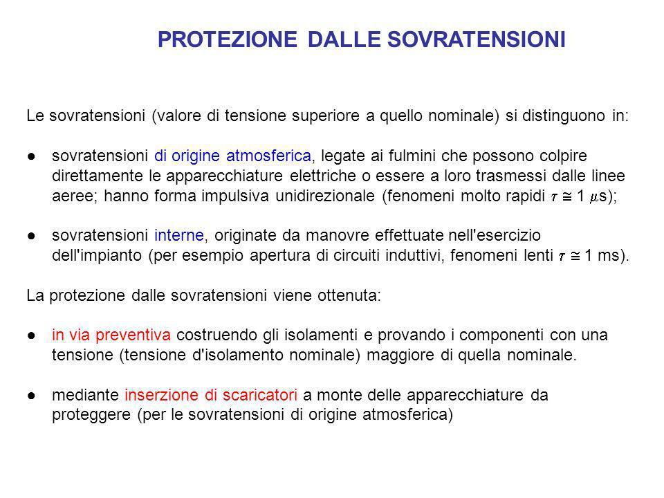 PROTEZIONE DALLE SOVRATENSIONI