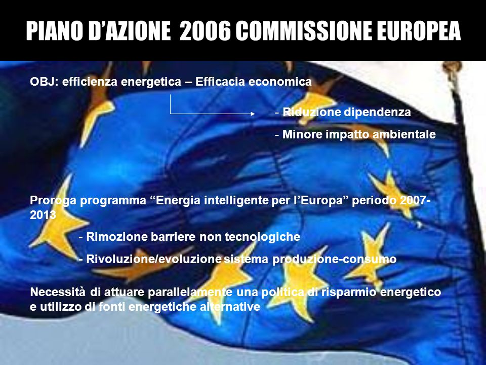PIANO D'AZIONE 2006 COMMISSIONE EUROPEA