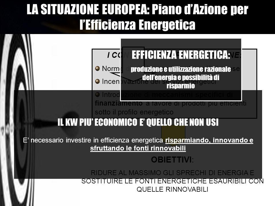 I CONTENUTI DEL PIANO D'AZIONE: