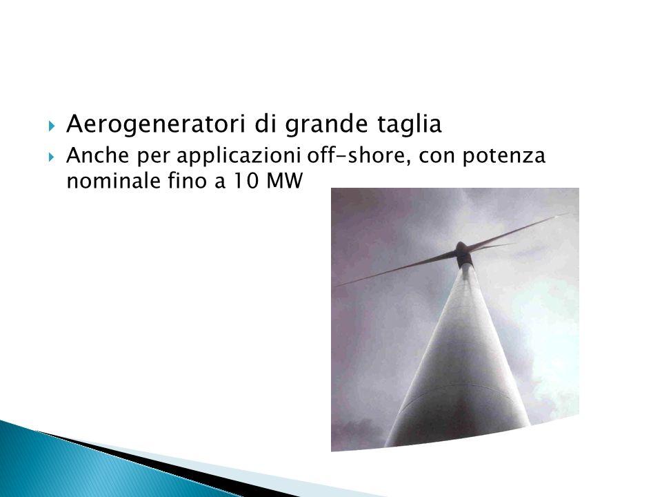 Aerogeneratori di grande taglia
