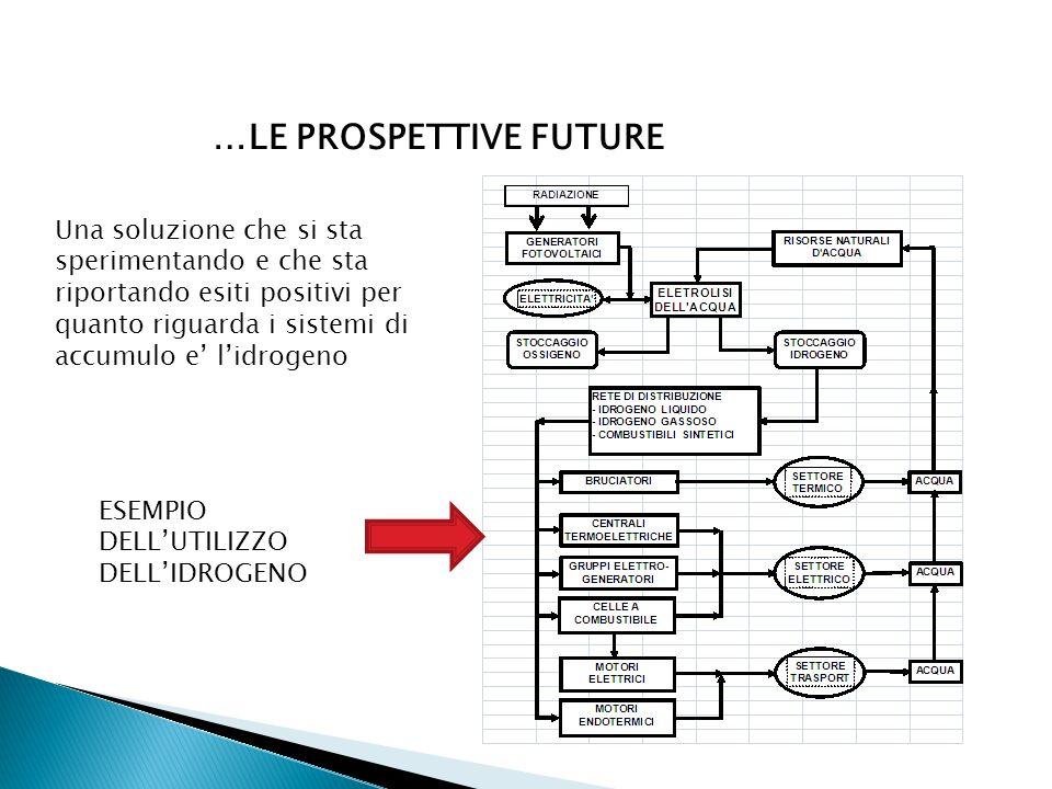 …LE PROSPETTIVE FUTURE