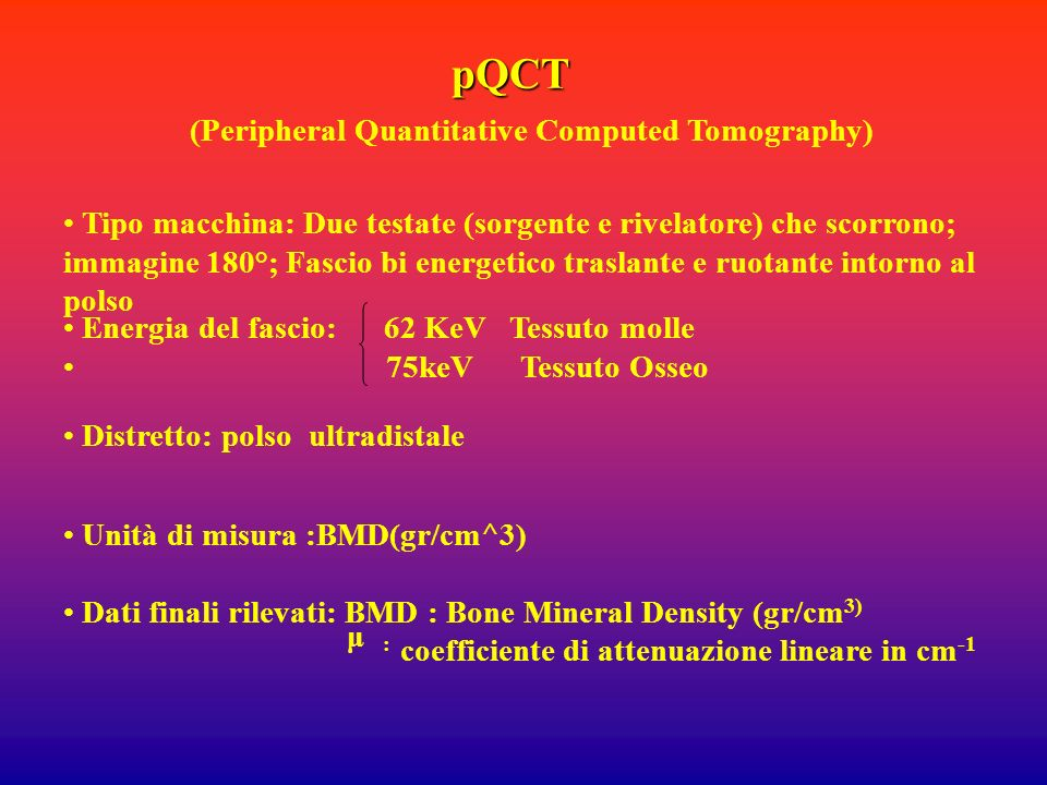 (Peripheral Quantitative Computed Tomography)