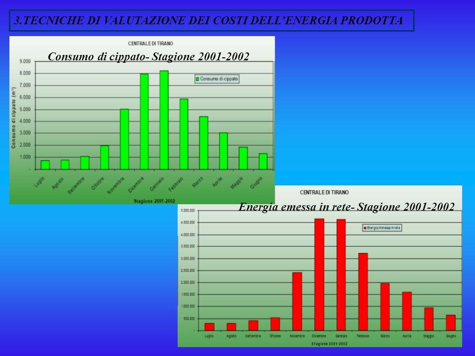 3.TECNICHE DI VALUTAZIONE DEI COSTI DELL'ENERGIA PRODOTTA