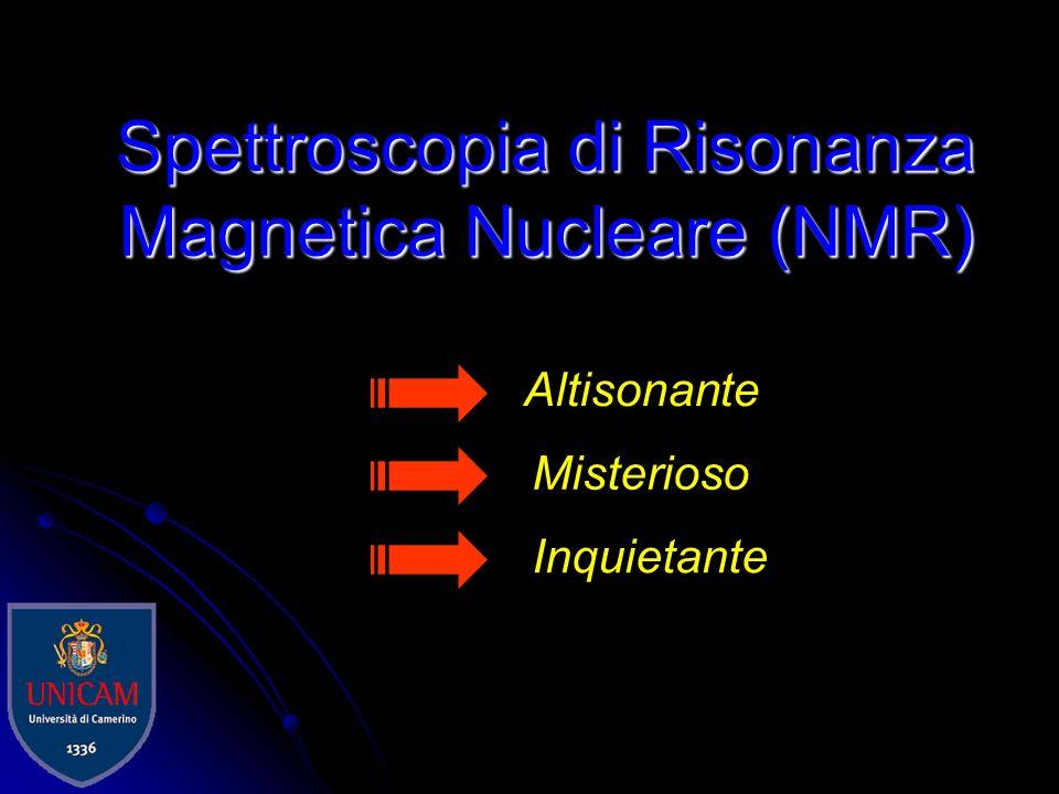 Spettroscopia di Risonanza Magnetica Nucleare (NMR)