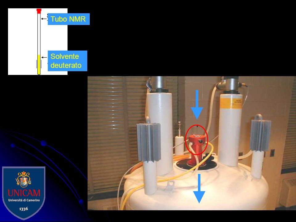 Solvente deuterato Tubo NMR