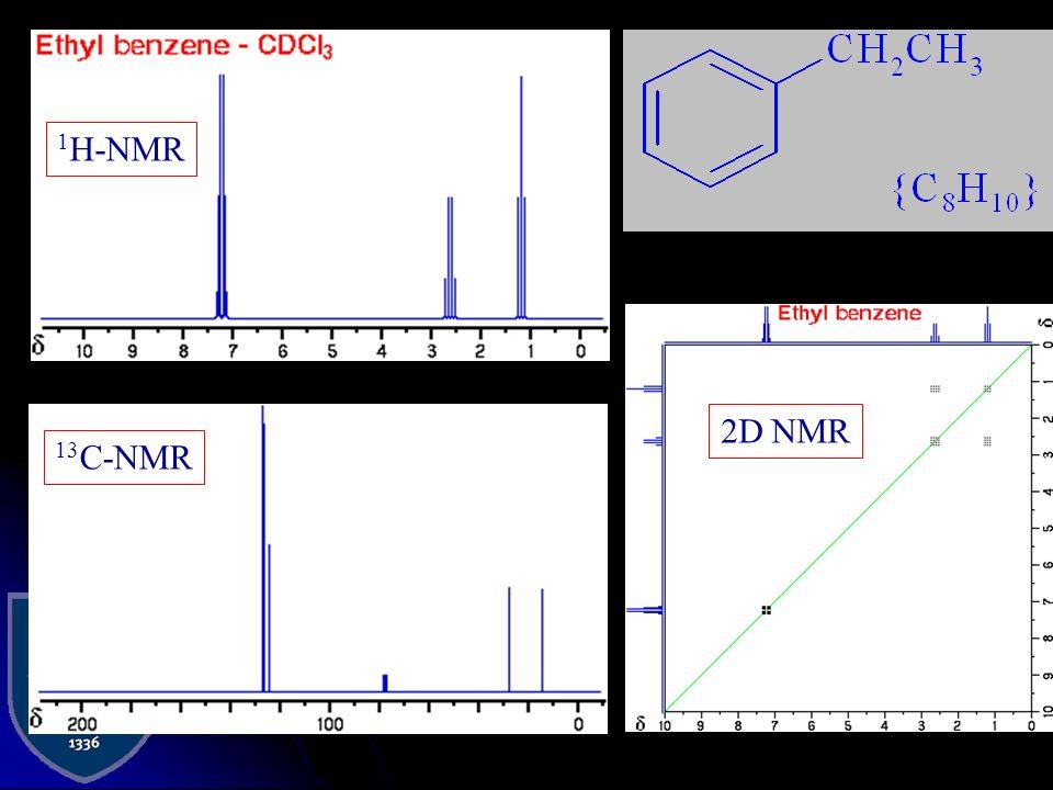 1H-NMR 2D NMR 13C-NMR