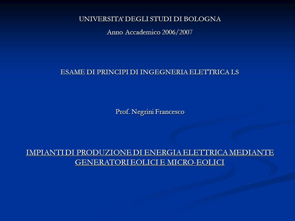 UNIVERSITA' DEGLI STUDI DI BOLOGNA