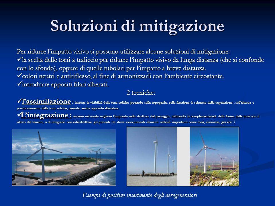 Soluzioni di mitigazione