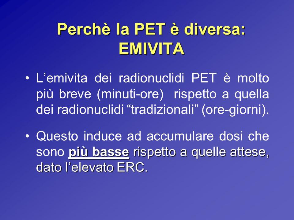 Perchè la PET è diversa: EMIVITA