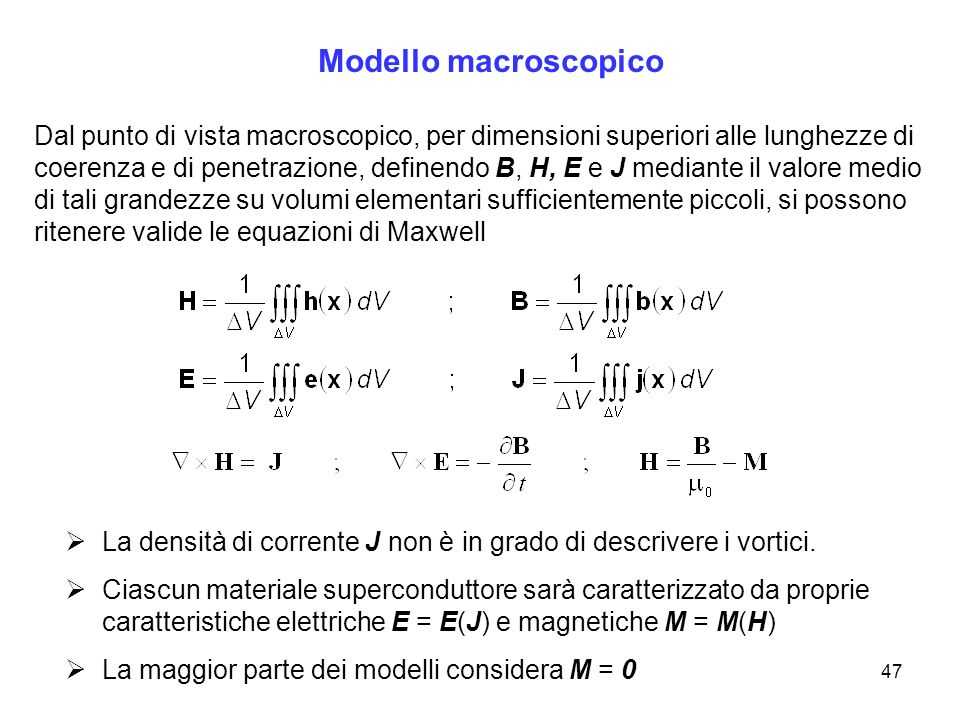 Modello macroscopico
