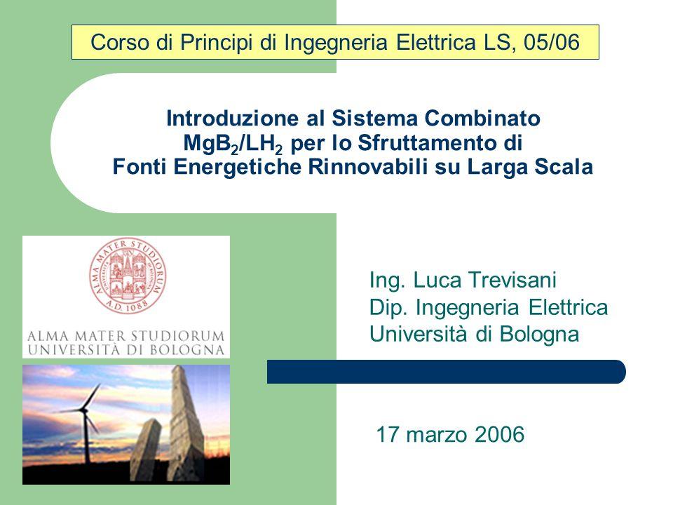 Ing. Luca Trevisani Dip. Ingegneria Elettrica Università di Bologna