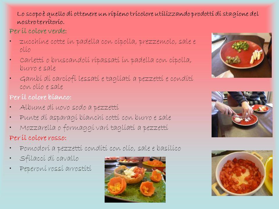 zucchine cotte in padella con cipolla, prezzemolo, sale e olio