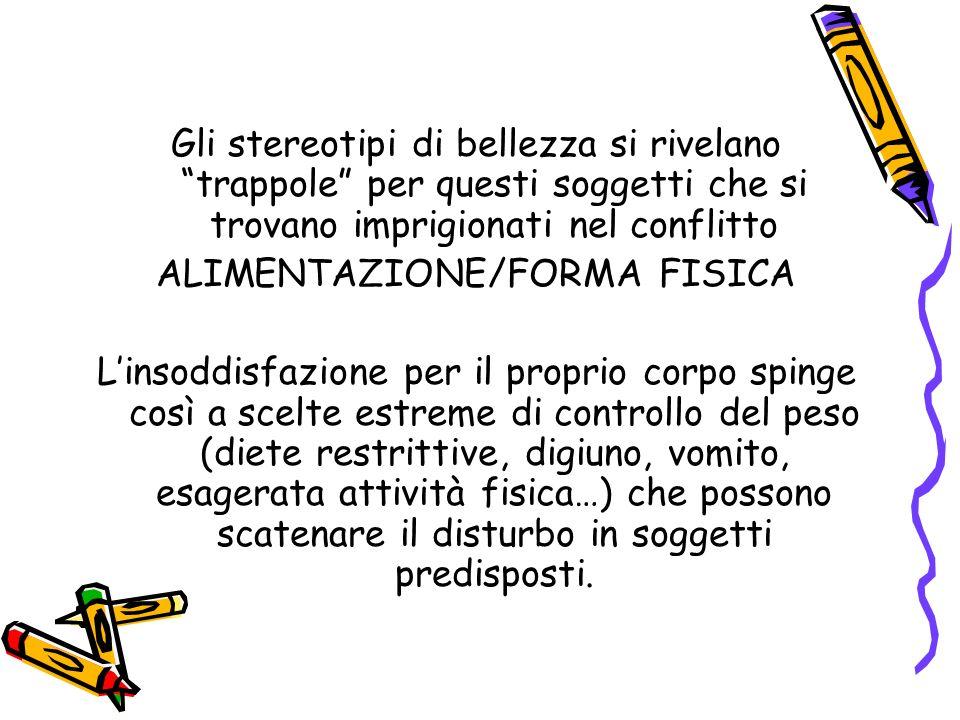 ALIMENTAZIONE/FORMA FISICA