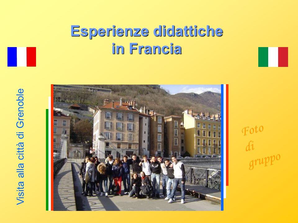 Esperienze didattiche in Francia