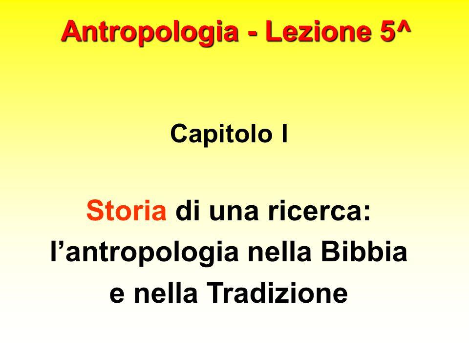 Antropologia - Lezione 5^