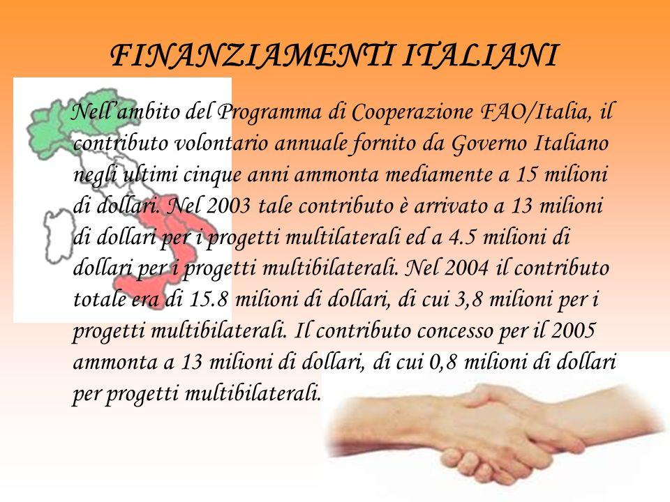 FINANZIAMENTI ITALIANI